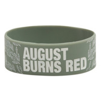 August Burns Red Diamonds Rubber Bracelet