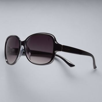 Women's Simply Vera Vera Wang Birdie Midsize Square Sunglasses