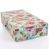 Isaac Mizrahi Ikat Floral Under the Bed Storage Box
