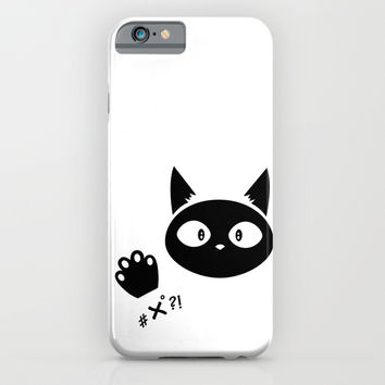#x°?! Cat iPhone & iPod Case by Shu | Formanuova