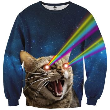 Galaxy Laser Cat Sweater