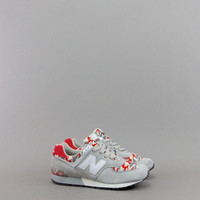 "NEW BALANCE 576 MADE IN USA ""CAMO PACK"" LIGHT GREY RED – BLENDS"