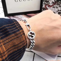 Hcxx 19Oct 498 Fashion Jewelry Gucci Interlocking Double G Logo Bracelet