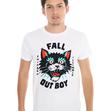 Fall Out Boy Crazy Cat T-Shirt