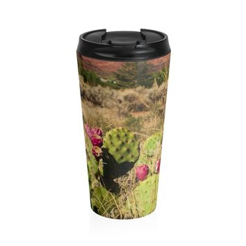 Utah Desert Coffee Cup - Stainless Steel Travel Mug