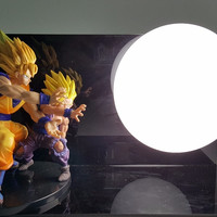 Dragon Ball Z Lamp Goku and gohan
