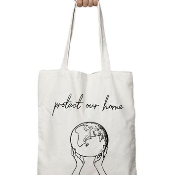 Protect Our Home - Tote Bag