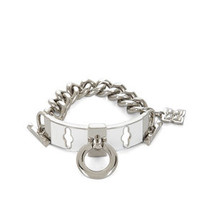 BCBG Enamel Toggle Chain Bracelet