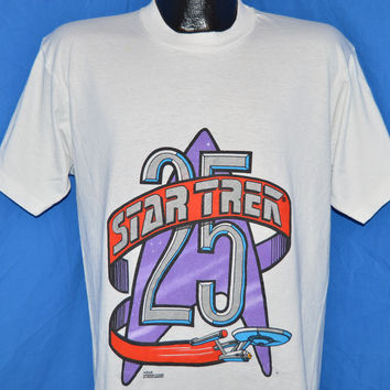 90s Star Trek 25th Anniversary t-shirt Large