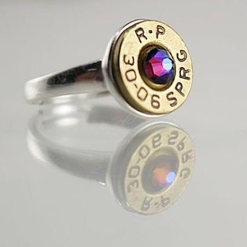 Adjustable Sterling Silver Ring - Bullet Ring - Statement Ring - Trendy Rings - Christmas Gift Ideas - Gifts for Her - Simple Rings