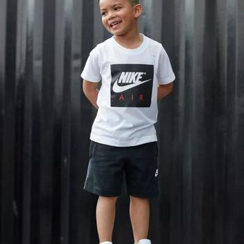 Kalete NIKE Children Boy Girl Casual Shirt Top Tee