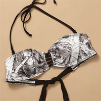 Naked North Snow Camo Strap Bandeau