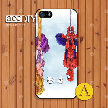 Disney Tangled, Phone cases, iPhone 5 case, iPhone 5s case, iPhone 4 case, iPhone 4s case, Spider-man, Case for iPhone, Skins--A50860