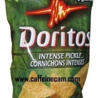Doritos Tortilla Chips, Intense Pickle, 255 Grams