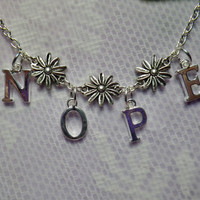 Nope Daisy Necklace