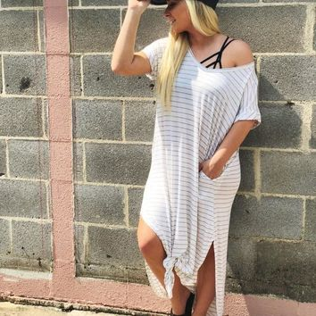 Forever Yours Dress- White