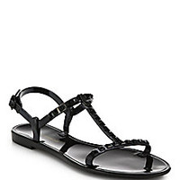 Rebecca Minkoff - Sava Studded Jelly Sandals - Saks Fifth Avenue Mobile