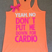 Pitch Perfect - Neon Tank - Womens Fitness Clothing - Workout shirt