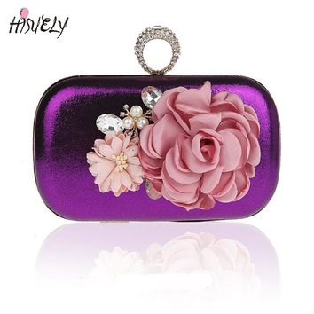 2017 Fashion Women Handbags Metal Patchwork Shinning bling Shoulder Bags Ladies Print Day Clutch Party Evening Bags WY120