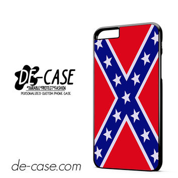 Rubber Confederate Rebel Flag DEAL-9342 Apple Phonecase Cover For Iphone 6/ 6S Plus