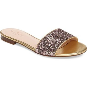 kate spade new york madeline embellished slide sandal (Women) | Nordstrom