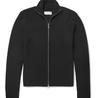 Officine Generale - Slim-Fit Ribbed Merino Wool Zip-Up Sweater
