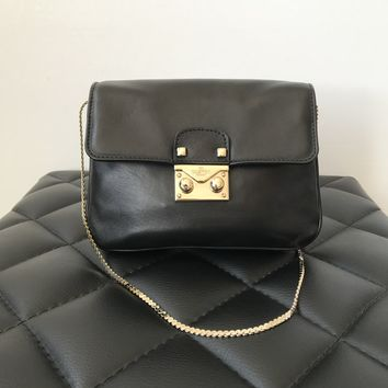 Valentino Mini Black Crossbody Bag