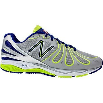 new balance mens m890sn3 gray athletic running training shoes size 11