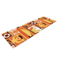 "Tobe Fonseca ""Summer"" Orange Seasonal Yoga Mat"