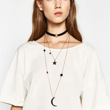 3-PACK OF CONTRASTING CHOKERS DETAILS