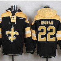 New Orleans Saints #22 Mark Ingram Pullover Hoodie