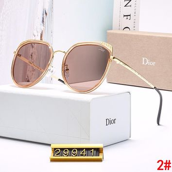 DIOR Popular Women Simple Casual Shades Eyeglasses Glasses Sunglasses 2#