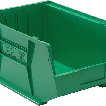 Quantum Storage Systems QUS255 Ultra Stack And Hang Bin Green - Pack of 4