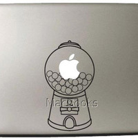 Gumball Machine MacBook Pro Decal Vinyl Mac Sticker by MacBooks