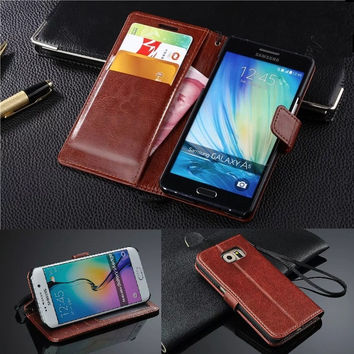 Vintage Wallet Leather case For Samsung Galaxy A3 A5 2017 J7 J3 J5 2016 Note 4 3 5 Grand Prime S7 S6 Edge Grand Neo 2 Flip cases