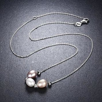 The Love Friendship Family Pearl Necklace