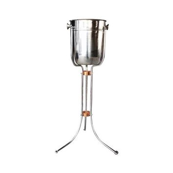Pre-owned 1970s Vintage Retro Champagne Bucket On Stand