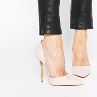 Carvela Albert Nude Point Toe 2 Part Court Shoes