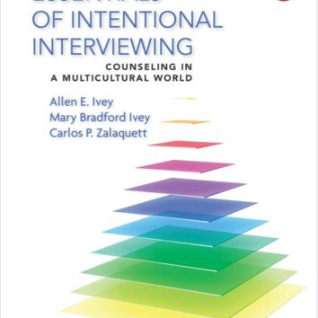 Essentials of Intentional Interviewing: Counseling in a Multicultural World by 3rd edition -  978-1305087330