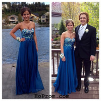 Elegant Prom Dresses Strapless Prom Dress Evening Dresses