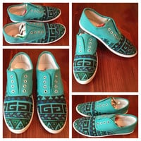 Aztec Shoes (RESERVED)