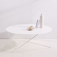 ERIC TRINE OCTAHEDRON COFFEE TABLE - WHITE