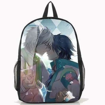 2017 Fashion Dramatical Murder Backpack Anime Seragaki Aoba Cosplay PU School Bag
