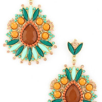 Young & Reckless Earrings in Orange