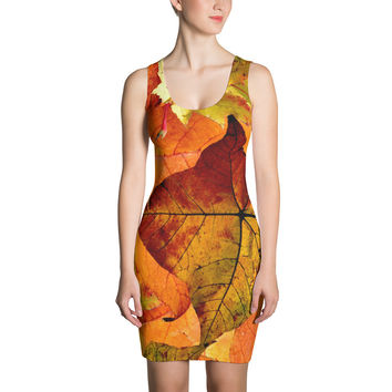 Autumn Leaves Dress