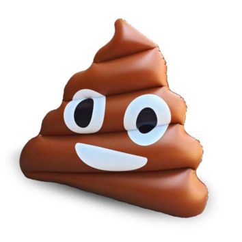 Poo Emoji Float