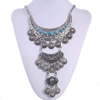 Triple Layer Festival Necklace
