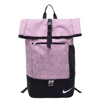 "x1love : ""Nike"" Large-Capacity Sport Travel Bag School College Backpack Laptop Bag"
