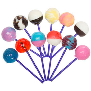 Linda's Lollies Gourmet Ball Lollipops: 24-Piece Display