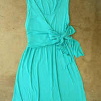 Summer Sorbet Dress in Jade [2794] - $32.00 : Vintage Inspired Clothing & Affordable Summer Dresses, deloom | Modern. Vintage. Crafted.